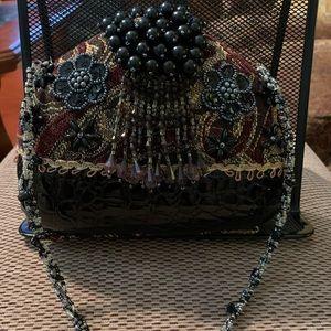Ornate Beaded Handbag